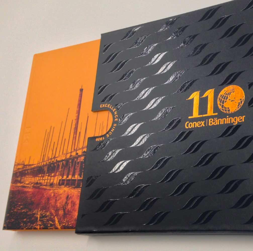 Box design for brochure Burton on Trent
