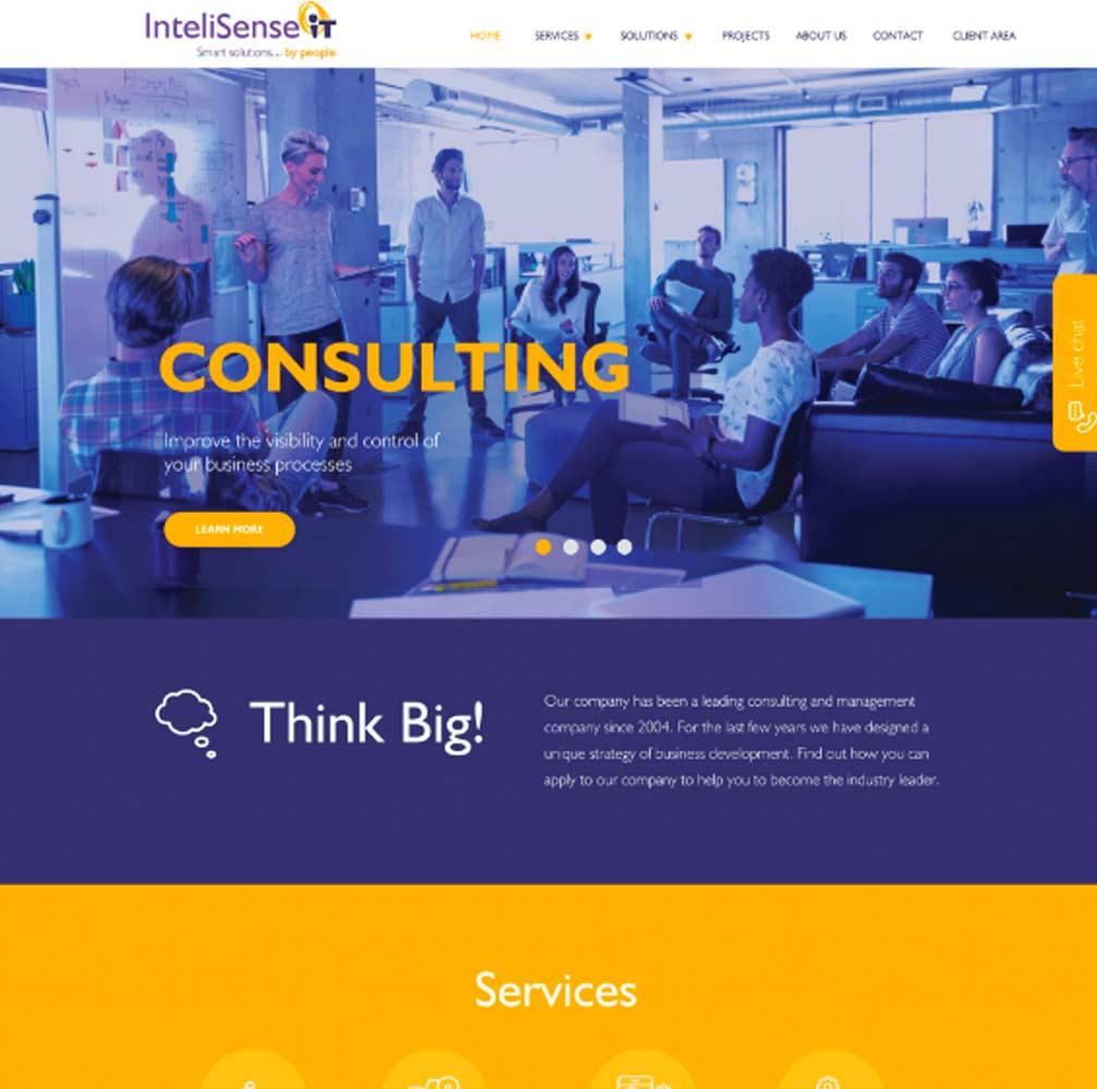 Business image for website design Burton on Trent