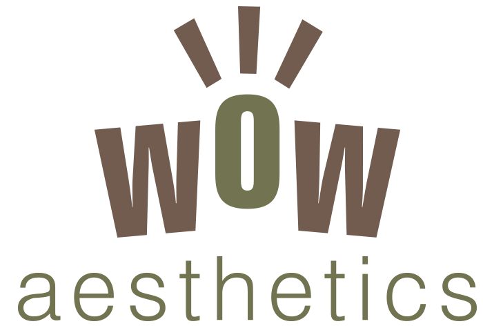 Cosmetics logo WOW designed in Burton on Trent