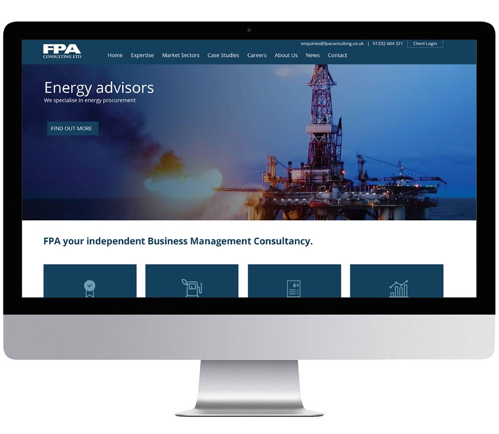 FPA consulting online business solution for website Burton on Trent 1