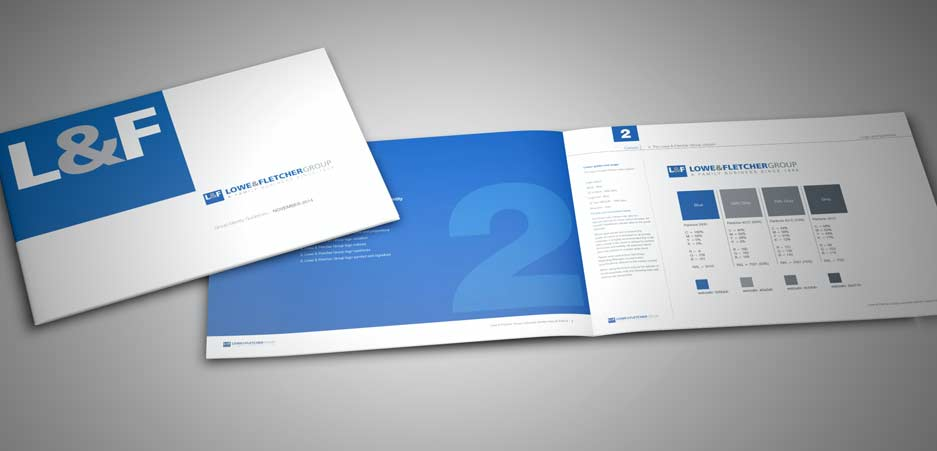 Graphic design for corporate guidelines Burton on Trent