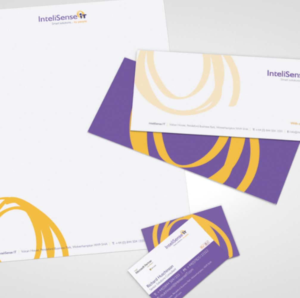 Graphic design for stationary Burton on trent
