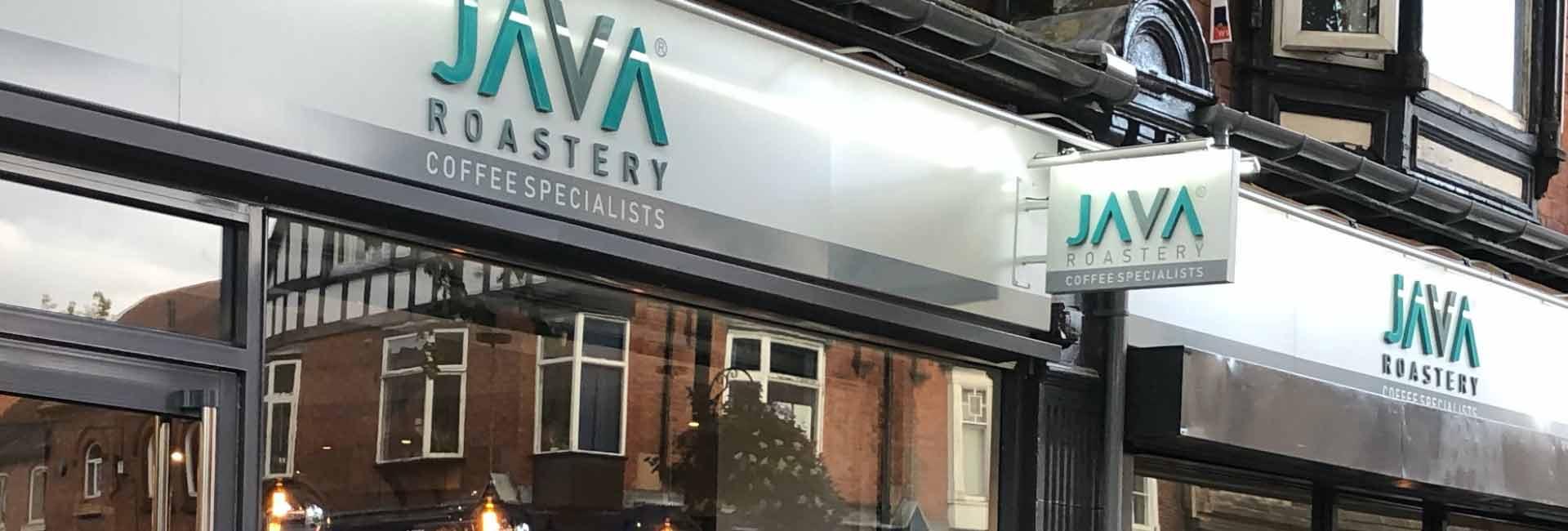 Java Roastery design identity Burton on Trent