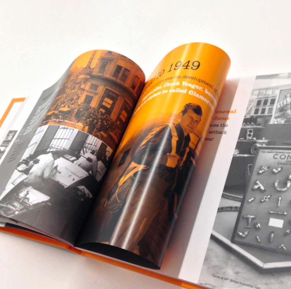 graphic Design for brochure Burton on Trent