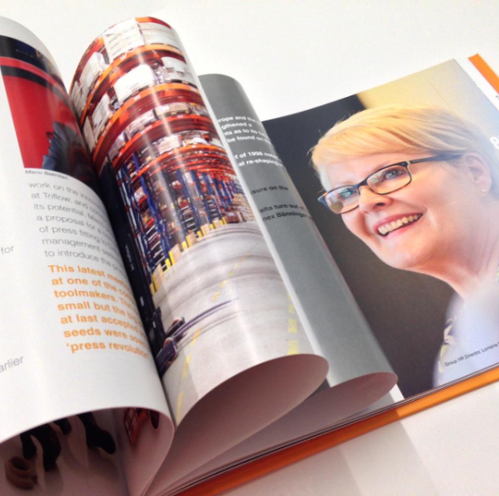 Portraite for prochure design Burton on Trent